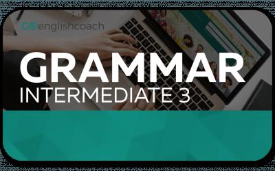 Intermediate Grammar 3